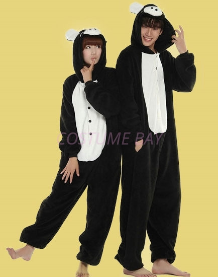 Picture of Black-White Pig Onesie
