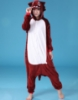 Picture of Brown Wolf Onesie