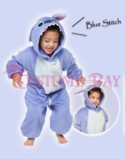 Picture of Blue Stitch Onesie
