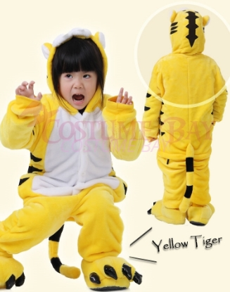 Picture of Yellow Tiger Onesie