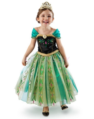 Picture of Frozen Princess Anna Costume Dress