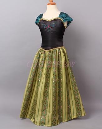 Picture of Frozen Princess Anna Dress