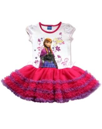 Picture of Frozen Princess Anna Tutu Cake Dress
