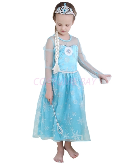 Picture of Frozen Princess Elsa Costume Dress