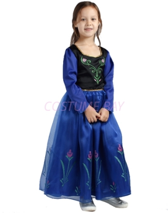 Picture of Princess Anna Frozen Costume Dress - Long Sleeve