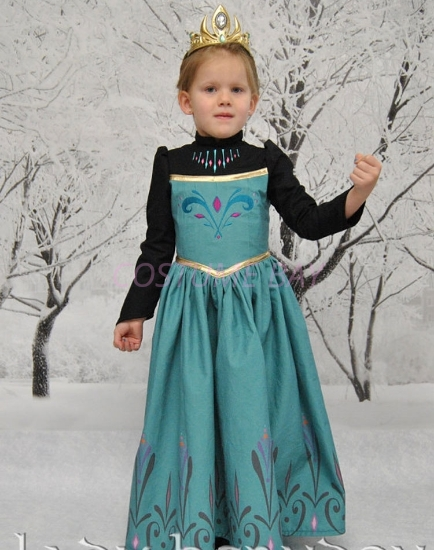 Picture of Frozen Princess Lady Herndon Dress