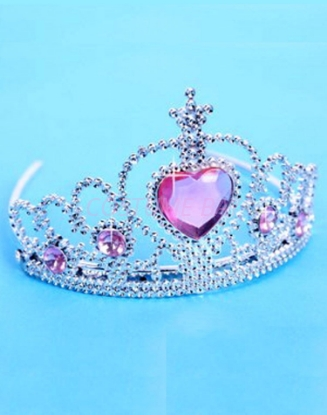 Picture of Frozen Princess Elsa Anna Crown Pink