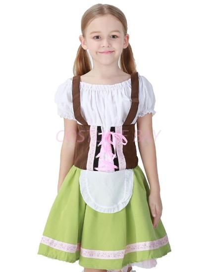 Picture of Girls Oktoberfest Beer Maid Fancy Dress Costume Book Week