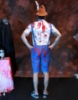 Picture of Bavarian Guy Mens Bloody Lederhosen Halloween Costume