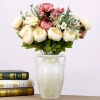 Picture of Bouquet 6 Heads Artificial Silk Peony
