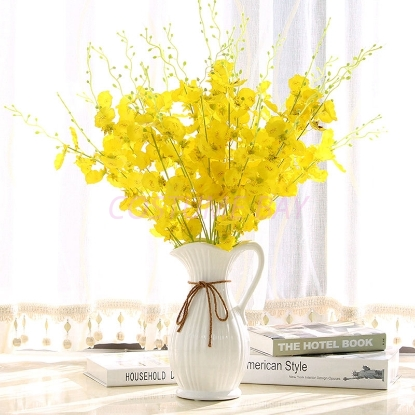 Picture of 2pcs Artificial Oncidium Dancing Lady Orchid