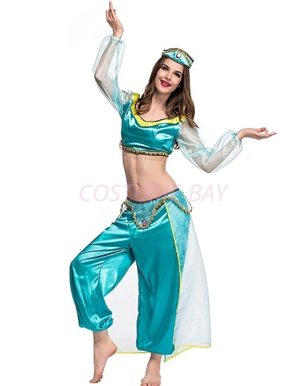 Picture of Princess Jasmine Arabian Belly Dancer Costume