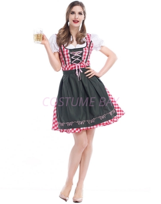 Picture of Ladies Oktoberfest Bavarian Beer Maid Costume NEW ARRIVAL