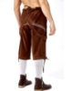 Picture of Bavarian Guy Mens Lederhosen Shorts - Black