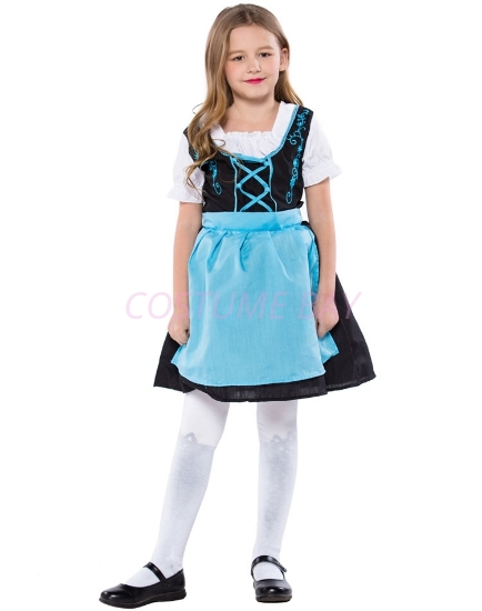 Picture of Girls Oktoberfest Beer Maid Fancy Dress Costume Book Week