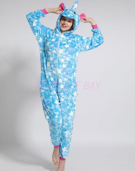 Picture of Blue Star Unicorn Onesie