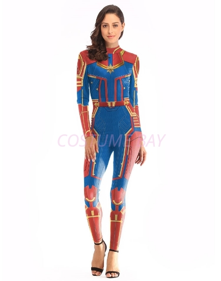 Picture of Captain Marvel Jumpsuit Costume