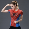 Picture of Quick Dry Spider Girl Fitness Top