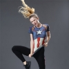 Picture of Quick Dry Captain America Fitness Top