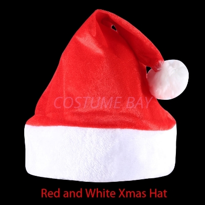 Picture of Christmas Classical Red & White Hat
