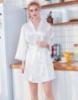 "Picture of Women Bridal ""Bride"" Satin Kimono Robes - Pink"