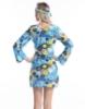 Picture of Woman Retro Hippie-001 Blue