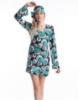 Picture of Woman Retro Hippie-001 Green