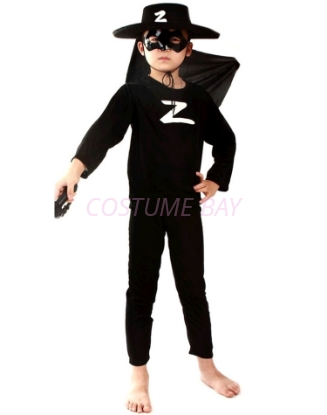 Picture of Boys Superhero Zoro Costume