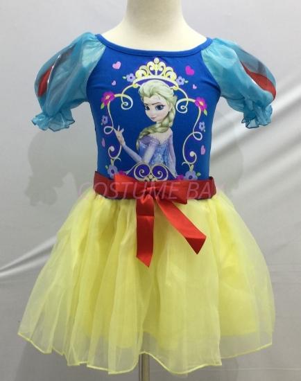 Picture of Girls Frozen Princess Elsa Anna Costume Dress Book Week