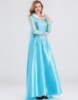 Picture of Adult Ladies Deluxe Frozen Princess Elsa Costume Dress