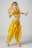Picture of Girl's Belly Dance Outfits Paillette Ruffles Short Sleeves -Rose