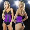 Picture of Women latex Waist Training Corset-Purple