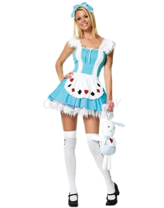 Picture of Alice in Wonderland Red Queen of Hearts Costume