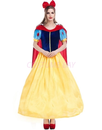 Picture of Snow White Princess Long Dress Costume