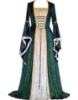 Picture of Womens Medieval Gothic Renaissance Gown Costume - Navy