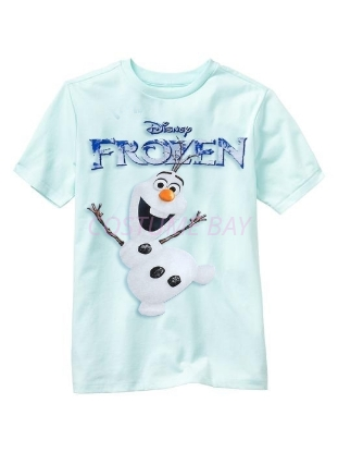 Picture of Boys T-Shirt - Olaf Blue