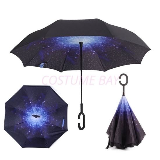 Picture of Upside Down Reverse Umbrella - Star
